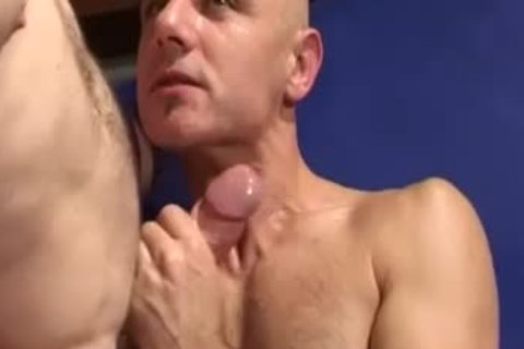 Skinhead Work Out Buddies unprotected pound And engulf