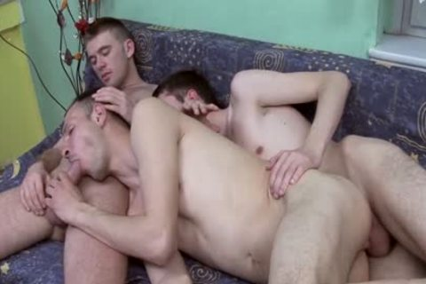 sperm cock - gay  trio BlowJobs & twink Party