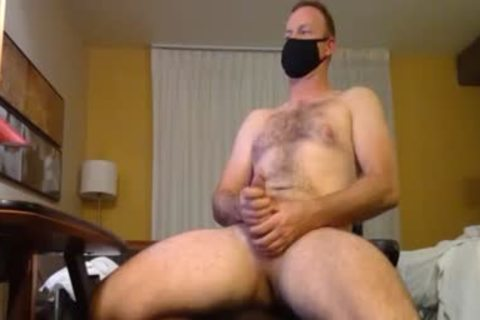 older chap Sticks His Finger Up His ass And Jerks Off