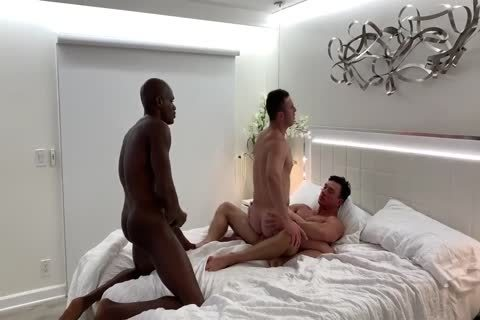 Two large penis Making Love To His wazoo