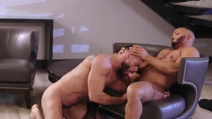 NoirMale - Dillon Diaz and Ricky Larkin kissing indoors