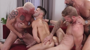 Icon Male - Tattooed Link Parker & Ryan Carter orgy video