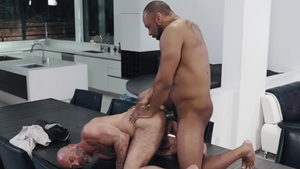 NoirMale - Hairy Adam Russo touching nice big dick