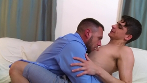 IconMale - Kory Houston beside Hans Berlin reality rimjob