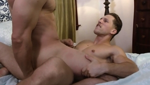 IconMale.com - Muscled Max Sargent desires slamming hard