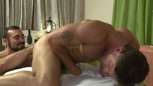 IconMale.com - Hairy Roman Todd among Jaxton Wheeler butt sex