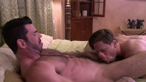 Icon Male: Hairy gay Billy Santoro lusts nailed rough in HD
