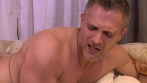 IconMale.com: Athletic Brendan Cage gay rimjob video