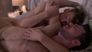 IconMale: Zack Grayson and athletic Billy Santoro anal fucked