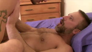 IconMale - Ty Roderick next to Dirk Caber butt fuck