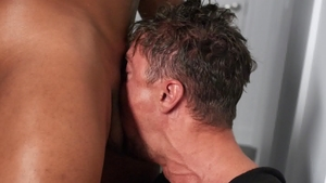 DrillMyHole: Muscled Jason Vario blowjob cum scene