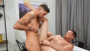Drill My Hole - Pierced Chris Damned doggy style sex scene