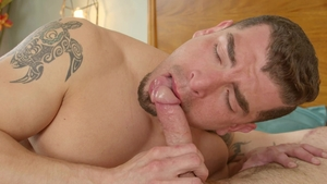 Next Door Originals - Latino Jeremy Spreadums tongue kissing