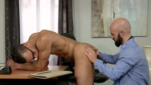 Extra Big Dicks: Lex Ryan is really bald brunette