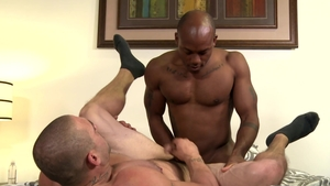 ExtraBigDicks - Caucasian Osiris Blade jerking huge dick