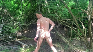 ExtraBigDicks.com - Trevor Ridge fun with toys outdoors