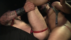 ExtraBigDicks: Inked Ray Diesel goes for ramming hard