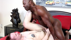 ExtraBigDicks - Aaron Trainer jerking Devin Tyler huge dick