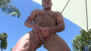 MenOver30 - Caucasian Dale Savage ass fucking outdoors