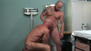 Pride Studios - Killian Knox nailed by huge cock Adam Ryker