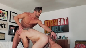 HotHouse - Ryan Rose and Wess Russel bareback anal