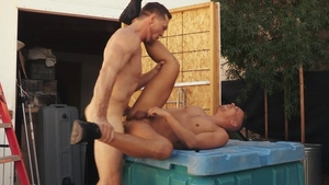HotHouse.com - Tight Aston Springs bareback jizzed in spring