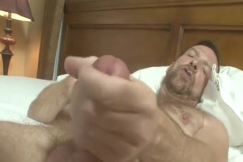 Hairyartist- William Fletcher -solo video scene Hotoldermale 2013