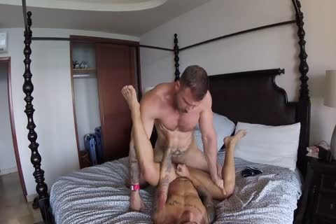 older Macho pokes A twink In Front Of cam
