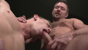 RagingStallion.com - Inked Andrew Justice lusts swallow