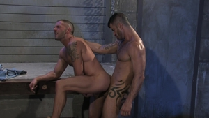 Raging Stallion: Tyler Wolf 3some