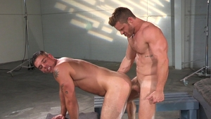 RagingStallion.com - Derek Atlas rough penetration scene