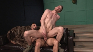 Raging Stallion: Adam Ramzi pounded by big penis Caleb King