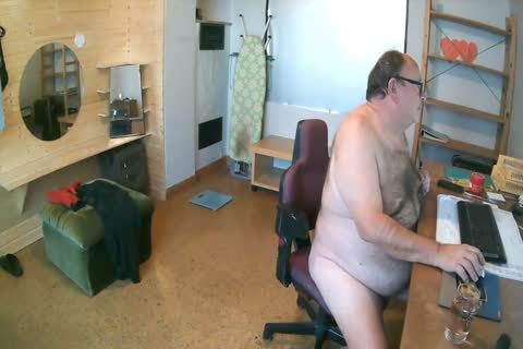 German fat Bald chap Show merely