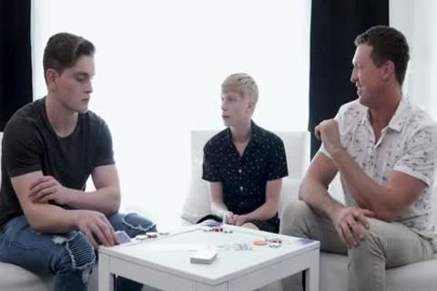 Pierce Paris, Jay Tee And Caleb Anthony In Ae˜cool dad