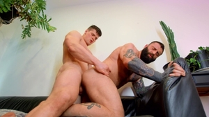 DrillMyHole.com: Bisexual Markus Kage doggy fuck in bath